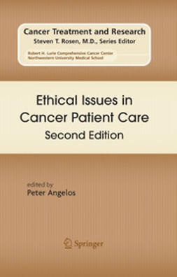 Angelos, Peter - Ethical Issues in Cancer Patient Care Second Edition, ebook