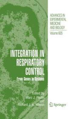 Poulin, Marc J. - Integration in Respiratory Control, e-bok