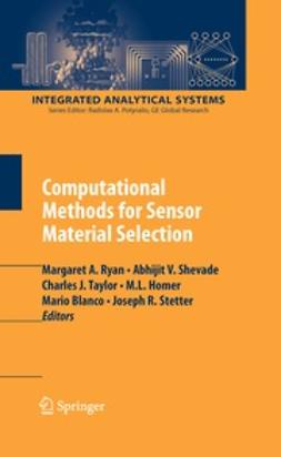 Ryan, Margaret A. - Computational Methods for Sensor Material Selection, e-kirja