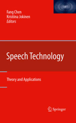 Chen, Fang - Speech Technology, ebook