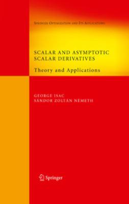 - Scalar and Asymptotic Scalar Derivatives, ebook