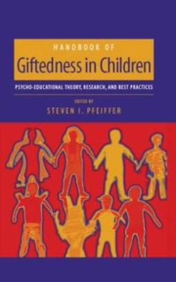 Pfeiffer, Steven I. - Handbook of Giftedness in Children, ebook