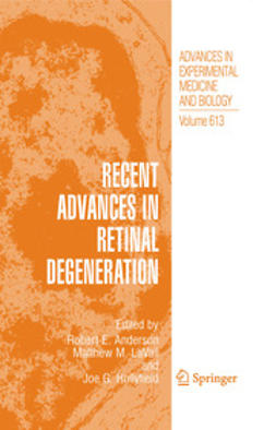 Anderson, Robert E. - Recent Advances in Retinal Degeneration, ebook