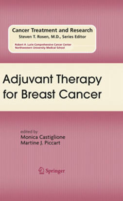Castiglione, Monica - Adjuvant Therapy for Breast Cancer, ebook