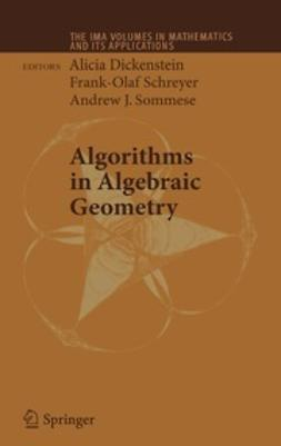 Dickenstein, Alicia - Algorithms in Algebraic Geometry, ebook