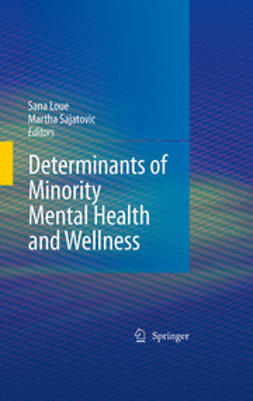 - Determinants of Minority Mental Health and Wellness, e-bok