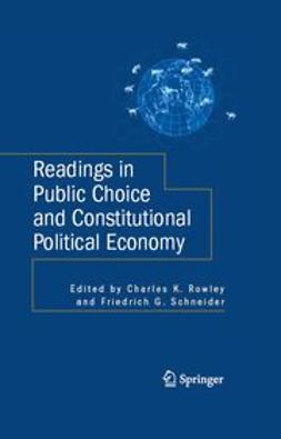 Rowley, Charles K. - Readings in Public Choice and Constitutional Political Economy, ebook
