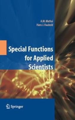Haubold, Hans J. - Special Functions for Applied Scientists, ebook