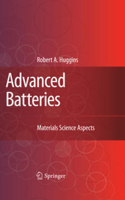 Huggins, Robert A. - Advanced Batteries, ebook