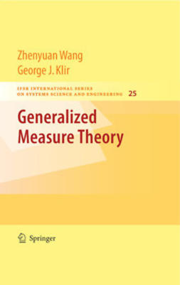Klir, George J. - Generalized Measure Theory, ebook