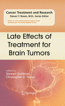 Goldman, Stewart - Late Effects of Treatment for Brain Tumors, ebook