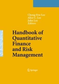 Lee, Cheng-Few - Handbook of Quantitative Finance and Risk Management, e-kirja