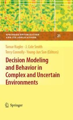 Connolly, Terry - Decision Modeling and Behavior in Complex and Uncertain Environments, ebook