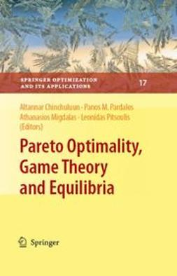 Chinchuluun, Altannar - Pareto Optimality, Game Theory And Equilibria, ebook