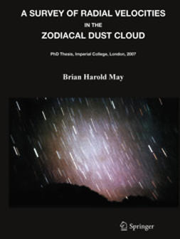 May, Brian Harold - A Survey of Radial Velocities in the Zodiacal Dust Cloud, ebook