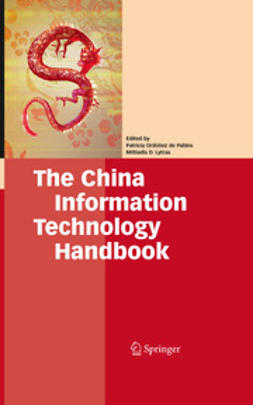 Pablos, Patricia Ordóñez de - The China Information Technology Handbook, ebook