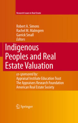 - Indigenous Peoples and Real Estate Valuation, ebook