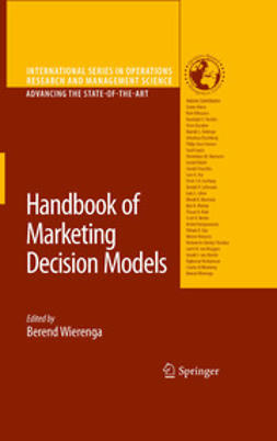 Wierenga, Berend - Handbook of Marketing Decision Models, ebook