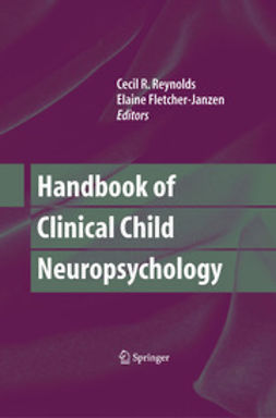 - Handbook of Clinical Child Neuropsychology, ebook