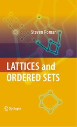 Roman, Steven - Lattices and Ordered Sets, e-bok