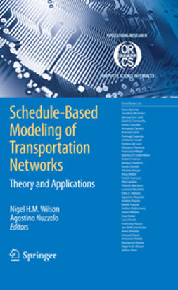 - Schedule-Based Modeling of Transportation Networks, ebook