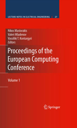 Mastorakis, Nikos - Proceedings of the European Computing Conference, ebook