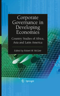 McGee, Robert W. - Corporate Governance in Developing Economies, ebook