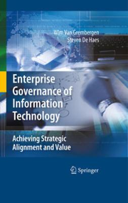 Haes, Steven De - Enterprise Governance of Information Technology, e-kirja