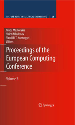 Mastorakis, Nikos - Proceedings of the European Computing Conference, e-bok