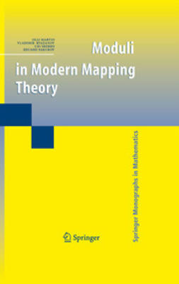 Martio, Olli - Moduli in Modern Mapping Theory, ebook