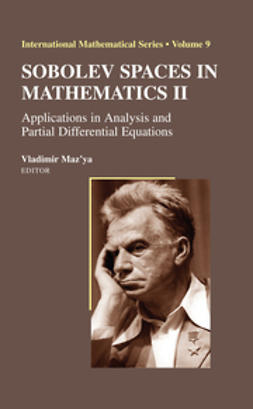 Maz'ya, Vladimir - Sobolev Spaces in Mathematics II, ebook