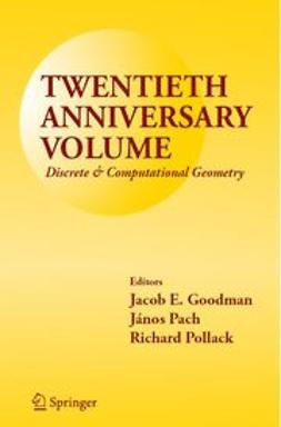 Goodman, Jacob E. - Twentieth Anniversary Volume:, ebook