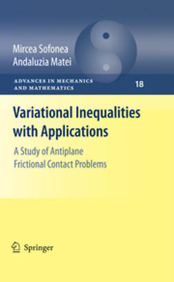 Matei, Andaluzia - Variational Inequalities with Applications, ebook