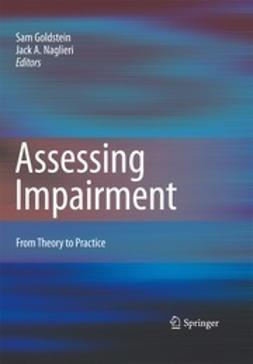 Naglieri, Jack - Assessing Impairment, ebook