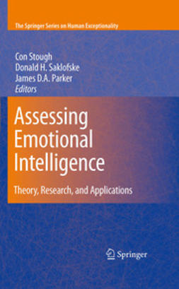 Parker, James D. A. - Assessing Emotional Intelligence, e-bok