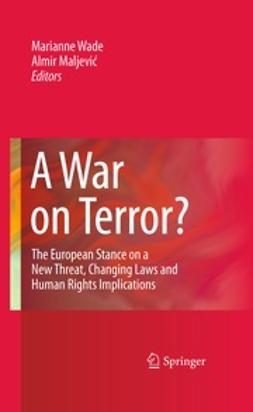 Maljevic, Almir - A War on Terror?, ebook
