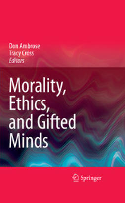 Cross, Tracy - Morality, Ethics, and Gifted Minds, ebook