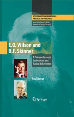 Naour, Paul - E.O. Wilson and B.F. Skinner, ebook