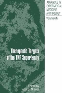 Grewal, Iqbal S. - Therapeutic Targets of the TNF Superfamily, ebook