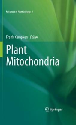 Kempken, Frank - Plant Mitochondria, ebook