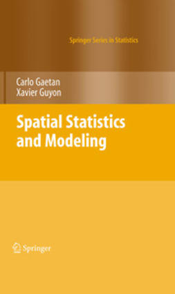 Gaetan, Carlo - Spatial Statistics and Modeling, ebook