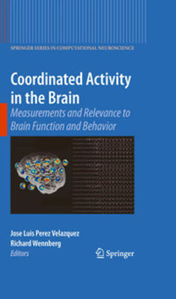 Velazquez, Jose Luis Perez - Coordinated Activity in the Brain, e-bok