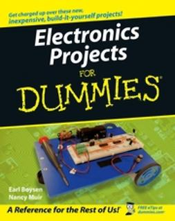 Boysen, Earl - Electronics Projects For Dummies, ebook