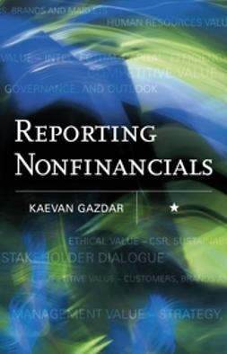 Gazdar, Kaevan - Reporting Nonfinancials, ebook
