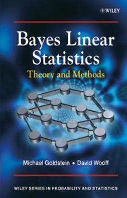 Goldstein, Michael - Bayes Linear Statistics, Theory & Methods, ebook