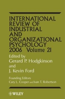Ford, J. Kevin - International Review of Industrial and Organizational Psychology, 2006, ebook