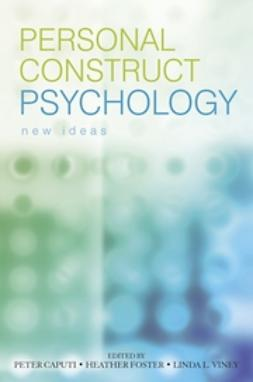 Caputi, Peter - Personal Construct Psychology: New Ideas, ebook