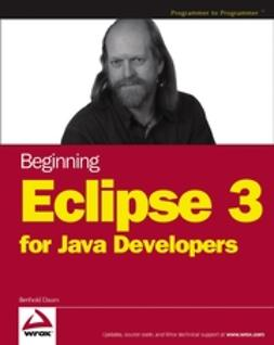 Daum, Berthold - Professional Eclipse 3 for Java Developers, e-bok