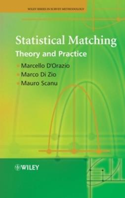 D'Orazio, Marcello - Statistical Matching: Theory and Practice, e-bok