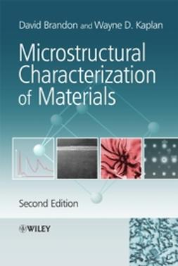 Brandon, David - Microstructural Characterization of Materials, e-kirja